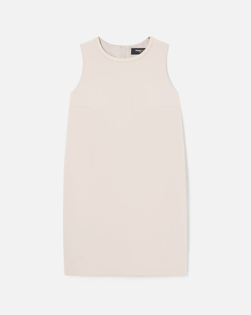 Stretch tricotine dress