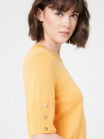 Merino wool sweater - Curcuma