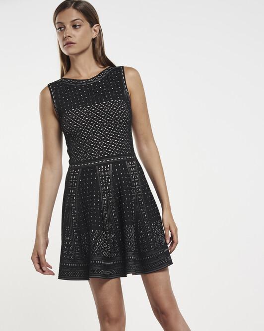 Viscose dress - Noir