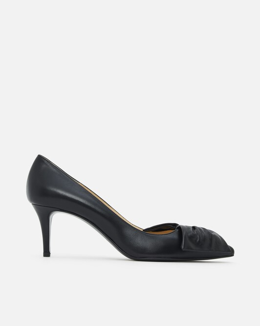 Pumps in nappa leather - black
