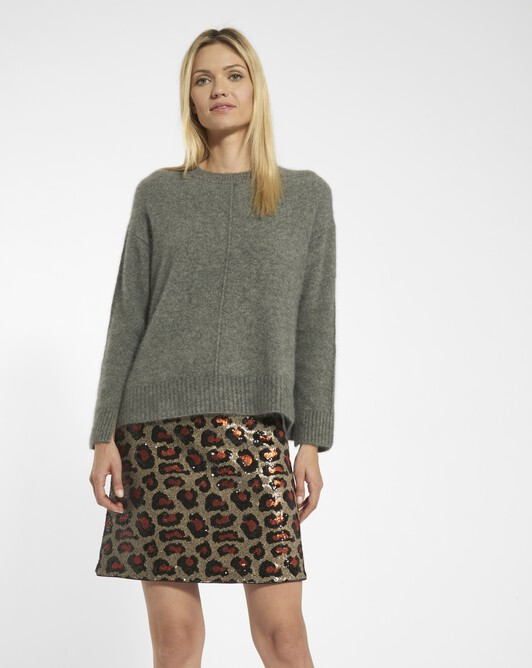 Raccoon sweater - Souris