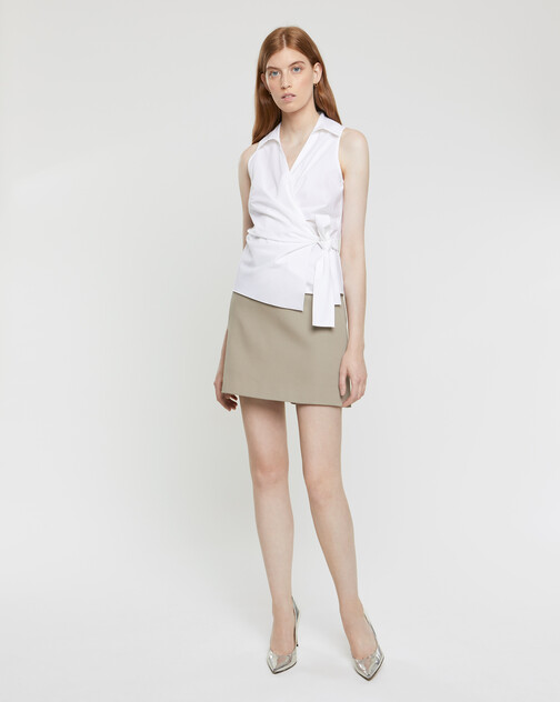 Cotton couture skirt