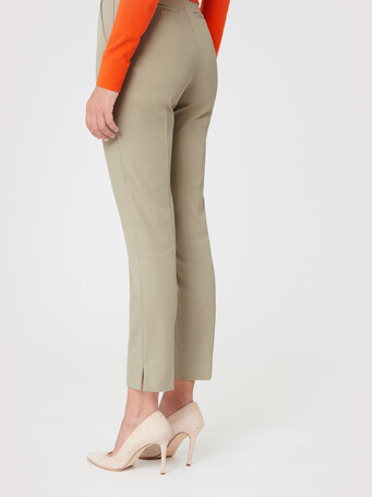 Cotton pants - Taupe