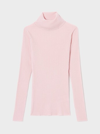 Merino wool sweater - Rose pale