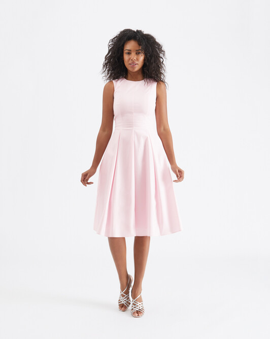 Cotton-poplin dress - Magnolia