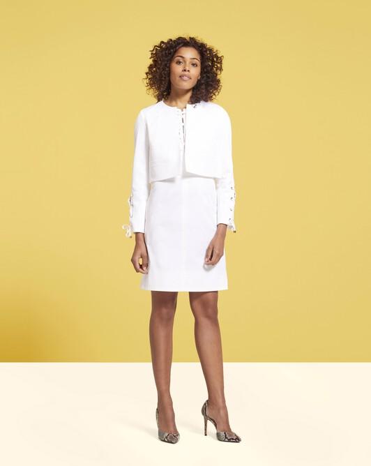 Veste en coton - Blanc