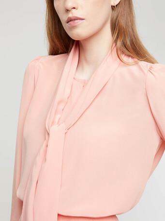 Chemise en crêpe de chine - Eau de rose