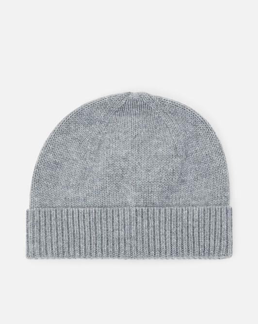 Cashmere wool beanie - Souris