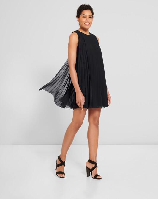 Chiffon dress - Noir