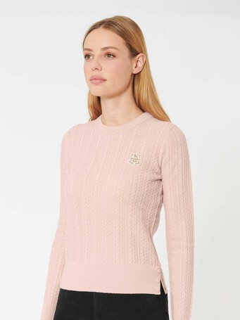 Wool and cashmere sweater - Rose pale