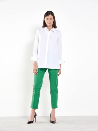 Cotton-gabardine pants - Trefle