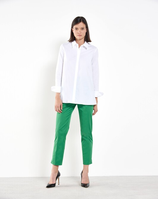 Cotton-gabardine pants - Trefle