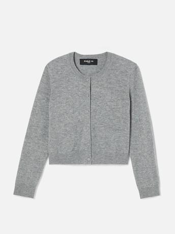 Cardigan en laine cachemire - Souris