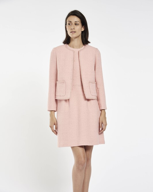 Herringbone jacket - Rose pale