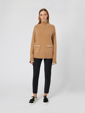 Wool sweater - Camel